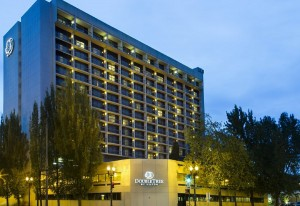 DoubleTree night-exterior-full