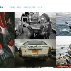 We Are Bristol Bay website by Emma Teal Laukitis