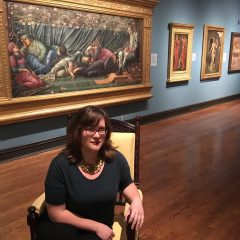 Anna Wager in Delaware Art Museum
