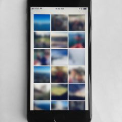 Experimental smartphone application by Christopher Seeds
