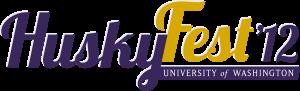UW HuskyFest logo