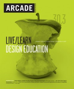 ARCADE 30.3 cover designed by Karen Cheng and Annabelle Gould, 2012