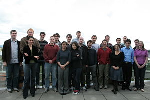 Group pic from Lab Retreat 2009