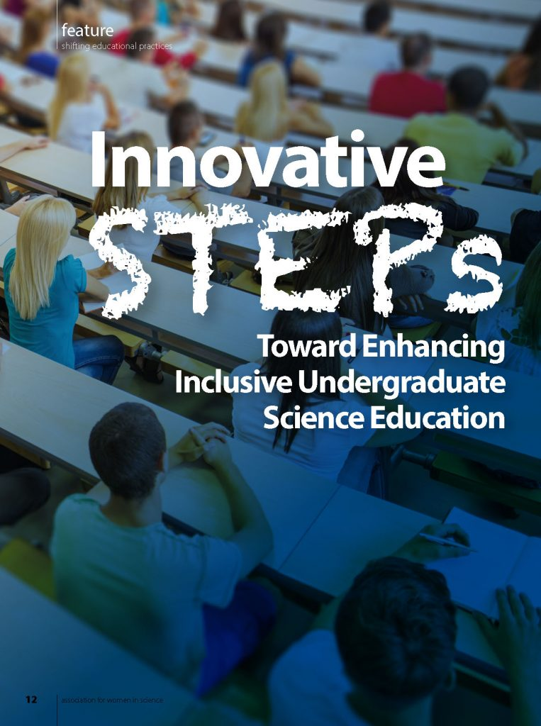 Innovative STEPs Toward Enhancing Inclusive Undergraduate Science Education (Front Page)