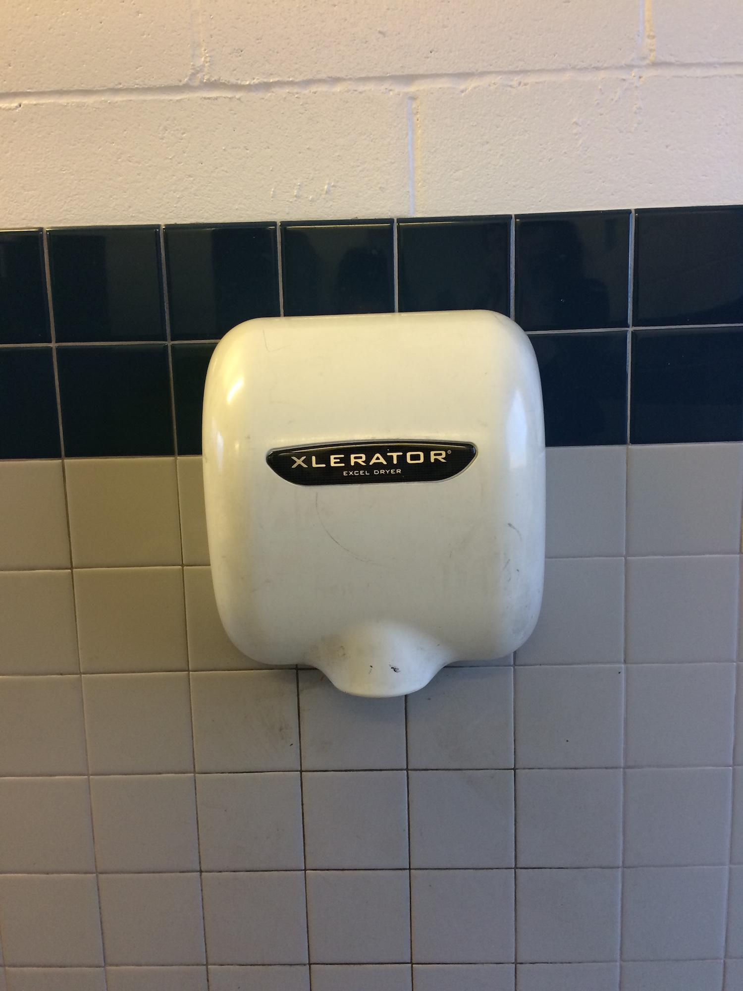 Observations Design For Public Restrooms - Hand blower for bathroom