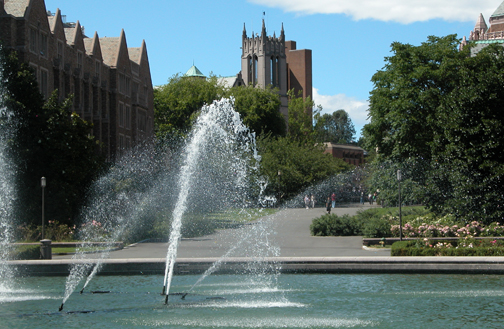 uw fountain