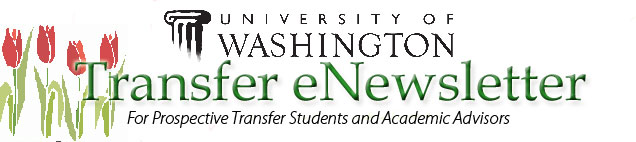UW Transfer Student eNewsletter