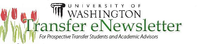 UW Transfer Student eNewsletter