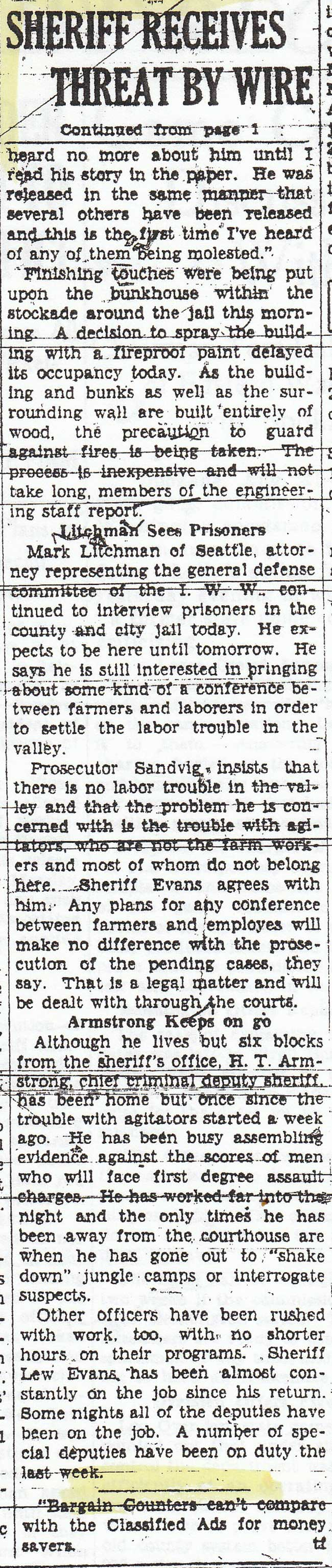 News coverage Farm Workers
