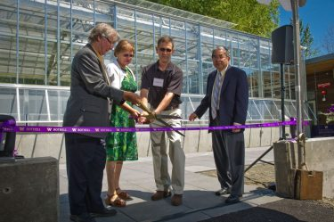 Conservatory Ribbon Cutting