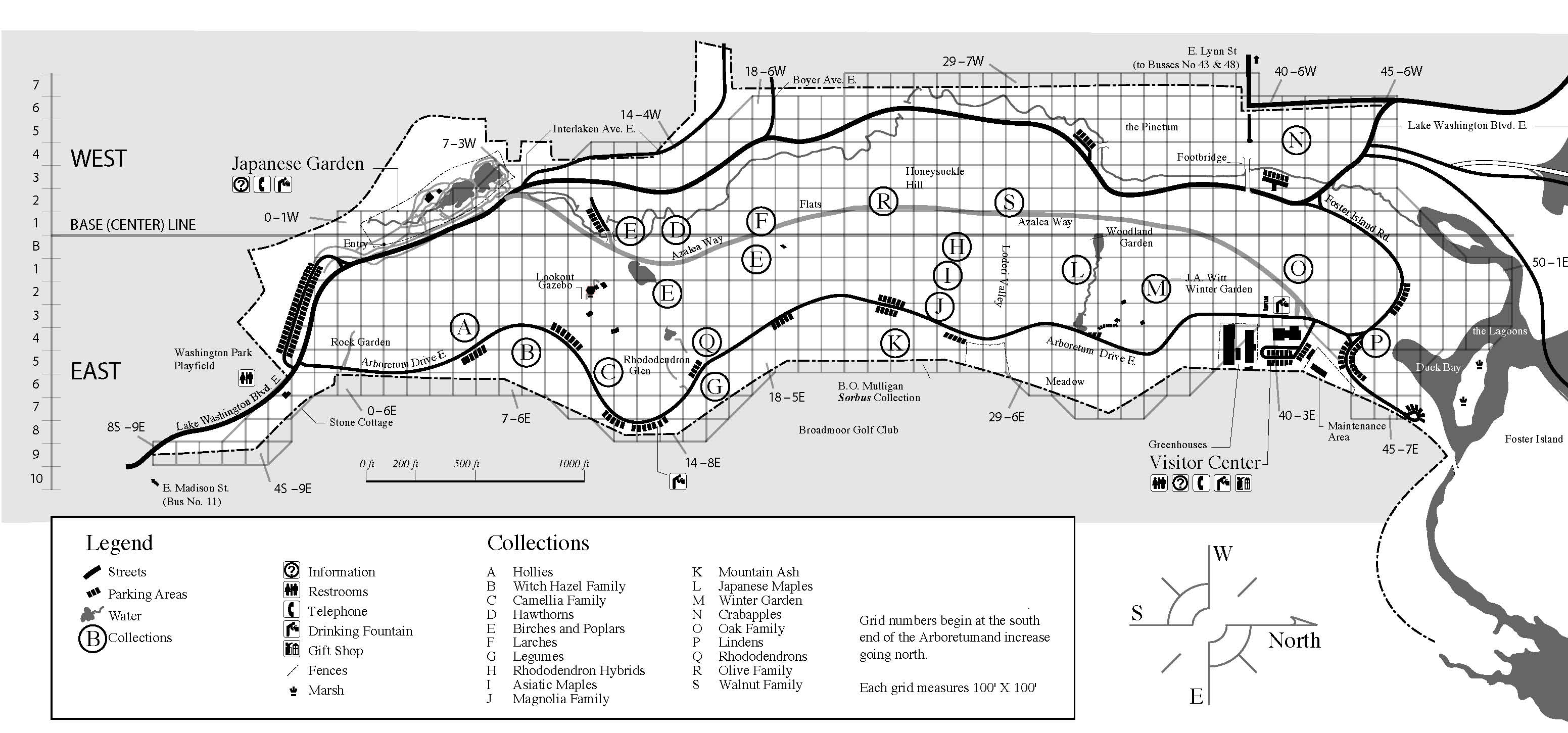 In the Arboretum with the total station and other milestones Define Map Grid on