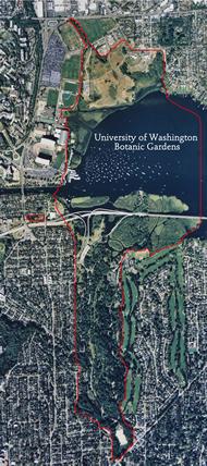 Aerial view of UWBG