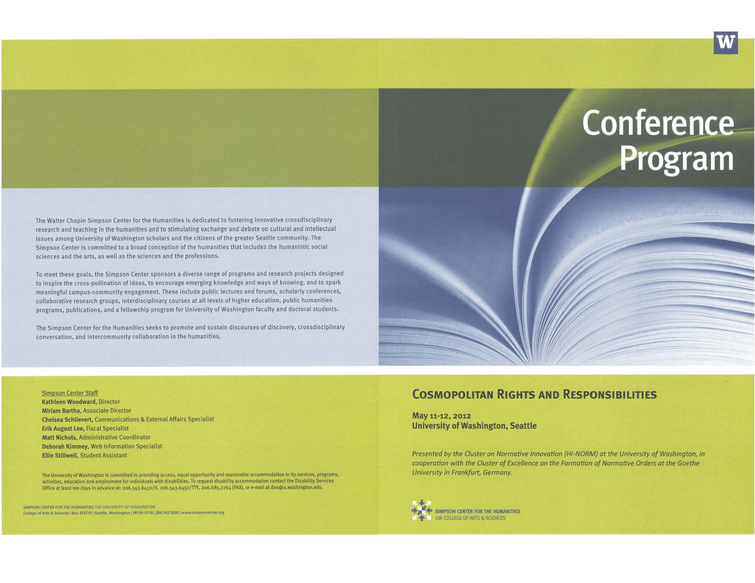 conference agenda with tracks template
