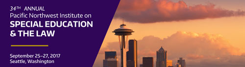 Pacific NW Institute for Special Education and the Law