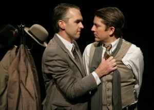 Sam Read and Jonathan Shue in The Twentieth Century Way. Photo by Mike Hipple.