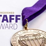 Image of Distinguished Staff Award medal