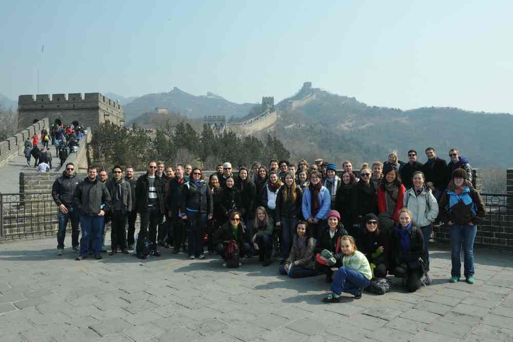 UWWE at Great Wall of China