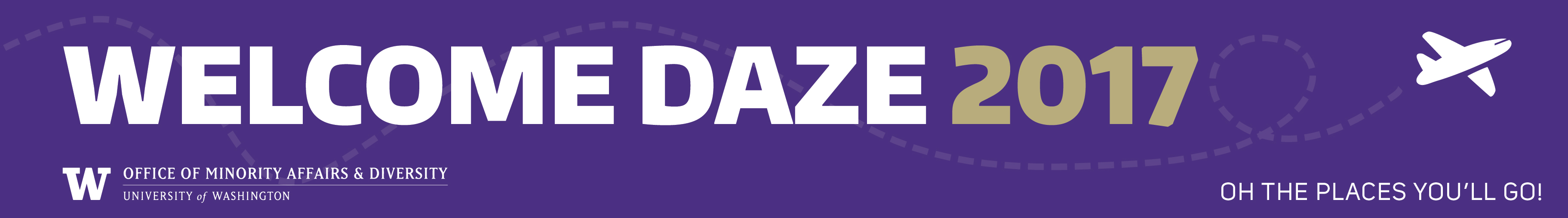 Welcome Daze banner