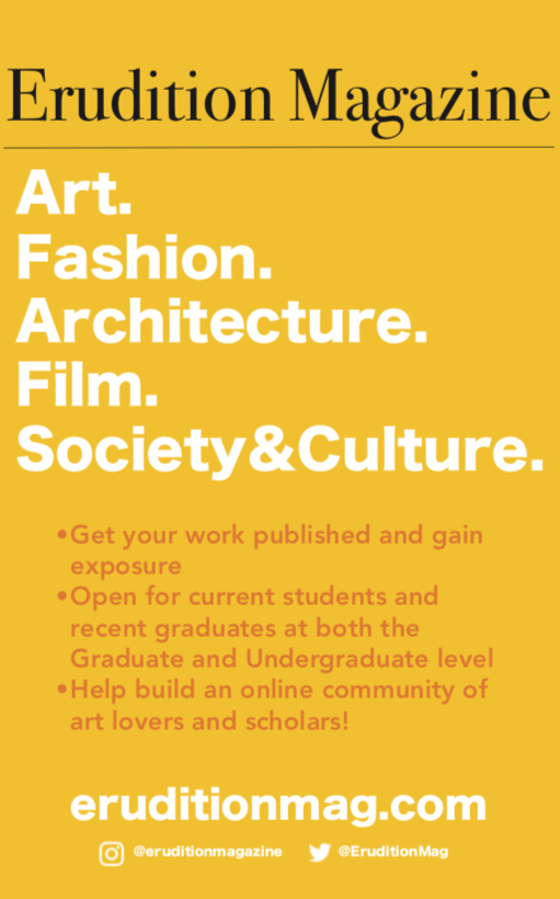Erudition Magazine Call For Submissions Art History And Criticism Jobs Internships More