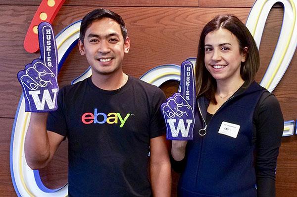UW student with alumni mentor