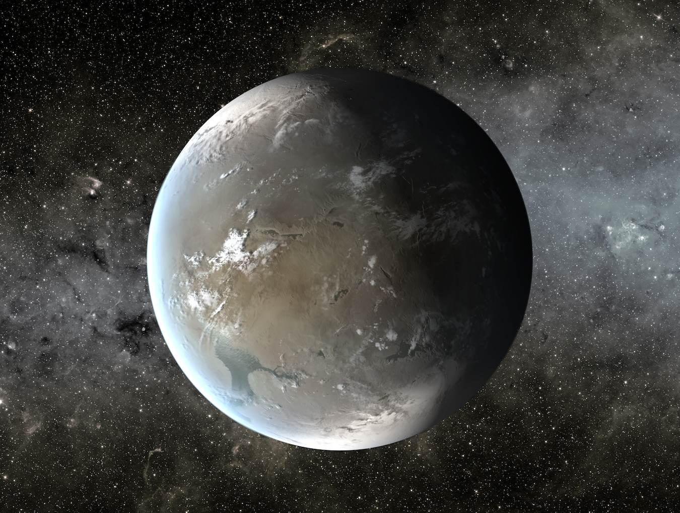 Artist's concept of Kepler-62f. Image Credit: NASA