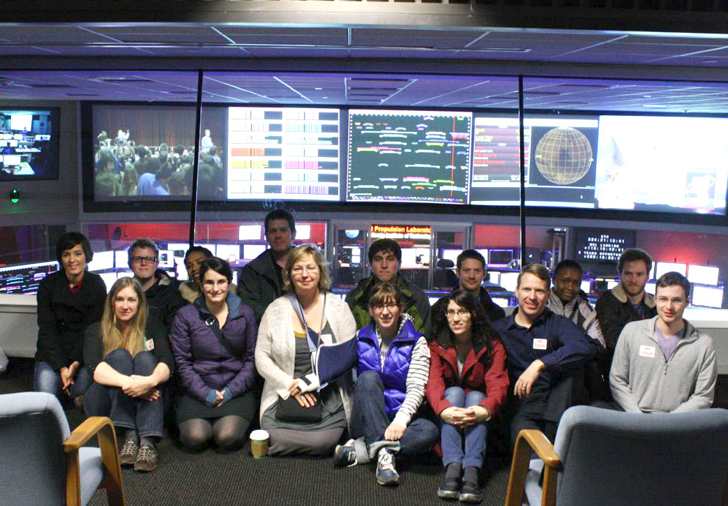 Prof. Victoria Meadows and Students at 2012 JPL Workshop