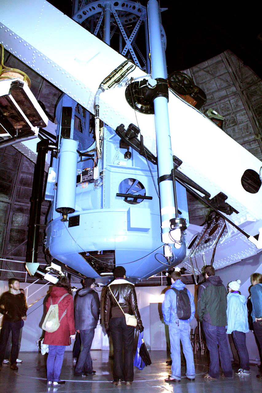 The 100-inch telescope at MWO.