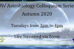 Autumn 2020 Colloquium Speakers Announced