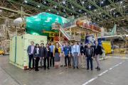 UW students present research projects to Boeing engineering leaders
