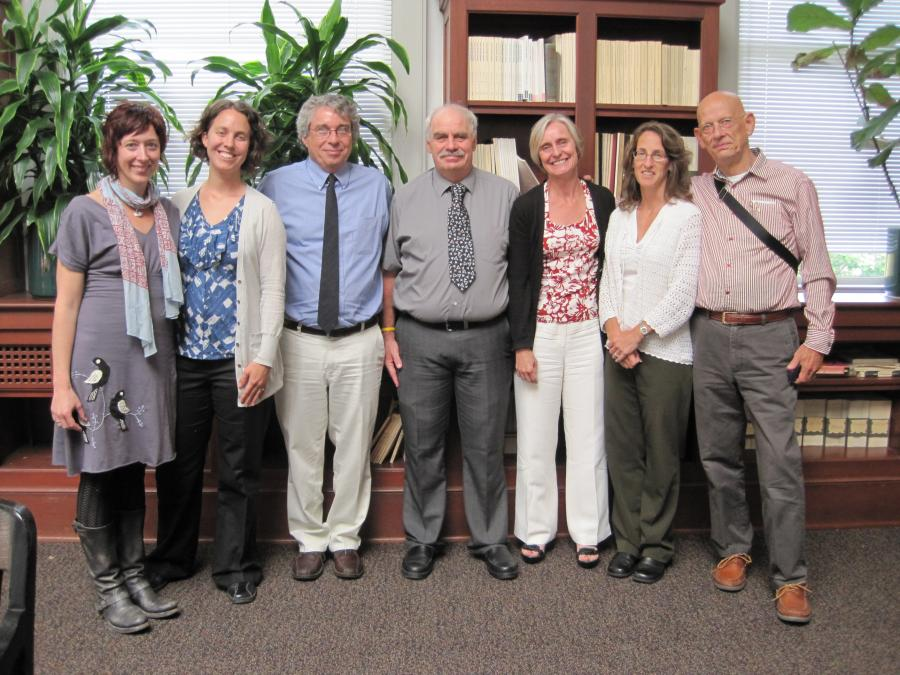 SPRC Members with David Metzger (University of Pennsylvania CFAR) and Donald Calsyn (UW Alcohol and Drug Abuse Institute) at the inaugural meeting of the Working Group on Substance Use.  August 26, 2010.
