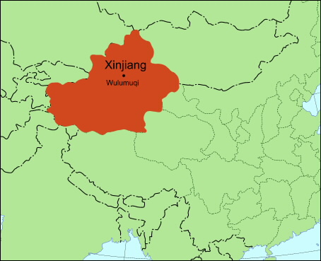 The Yili Area Of Xinjiang Province ...