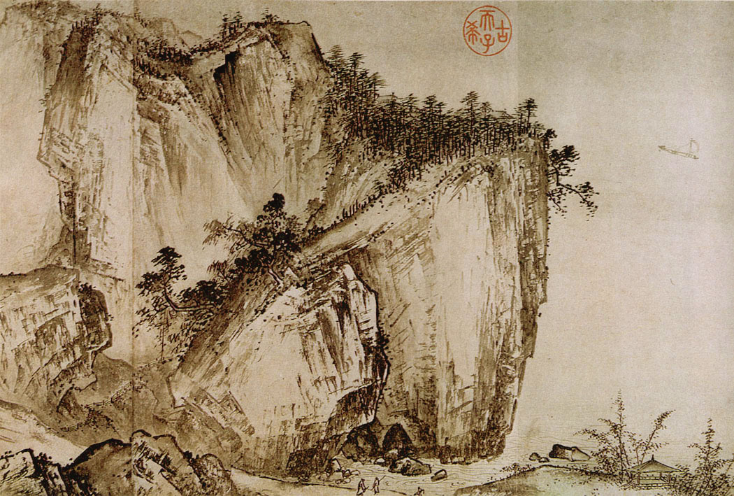 Traditional Chinese Landscape Paintings Frequently Use