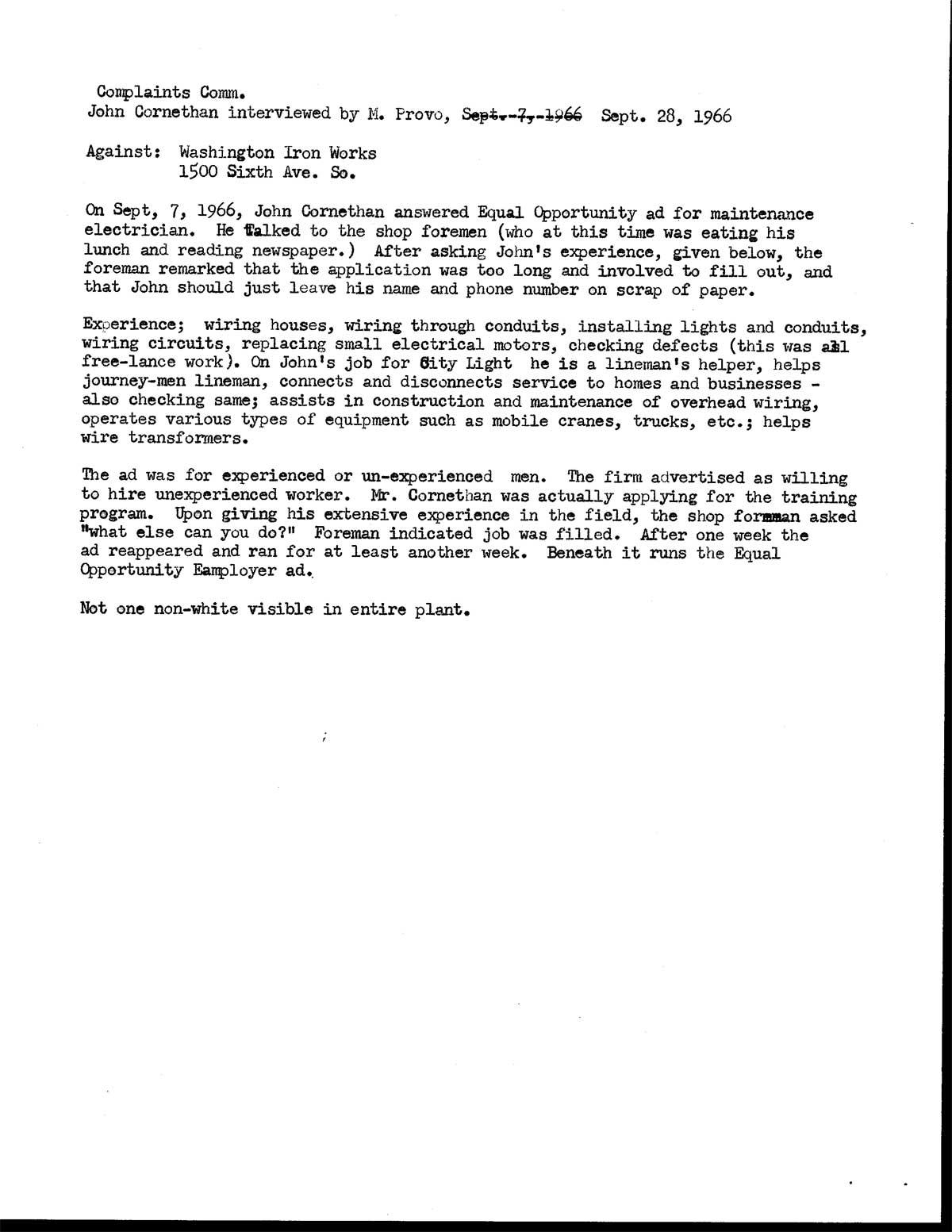 Sample Complaint Letter Format ...