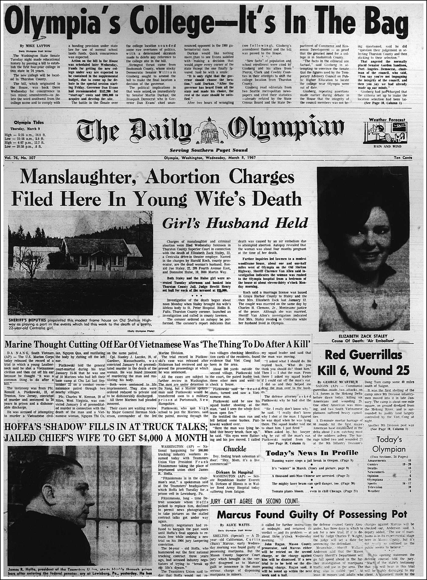 When Abortion was Illegal (and Deadly): Seattle's Maternal Death