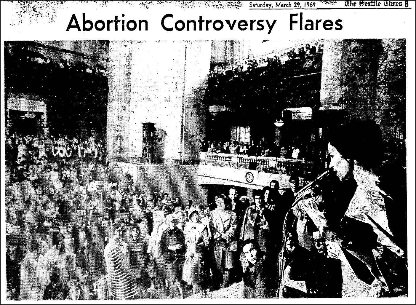 the controversy issue of abortion in the united states The fact that orr was at the center of the controversy—and the object of such a  dramatic judicial rebuke—shocked many who worked there.