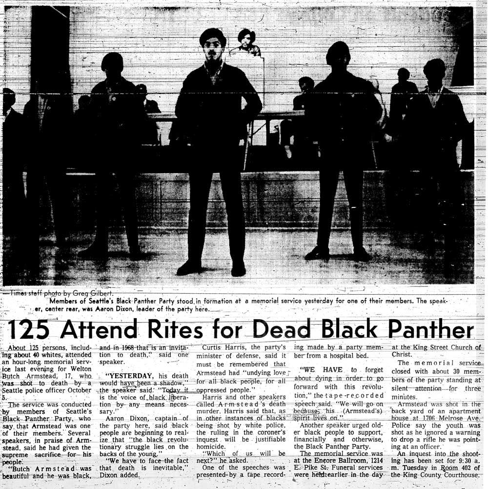 The Black Panther Party In Seattle: Part 2: Seattle