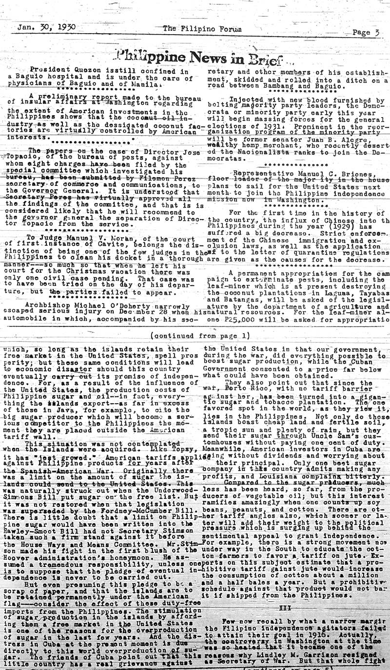 The Filipino Forum The Founding Years   Seattle Civil  News From The Philippines Above Was An Important Part Of The Filipino  Forum The Paper Also Published Poetry And Articles About Filipino Culture Essay Examples High School also Research Paper Samples Essay  Towson Online Writing
