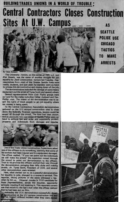 History Seattle Civil Rights And Labor History Project