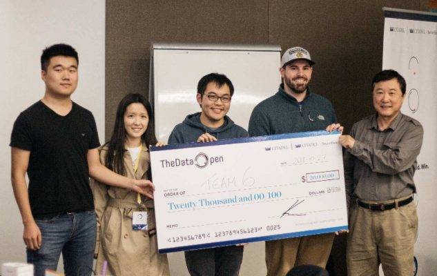 CFRM Student Wins The Data Open