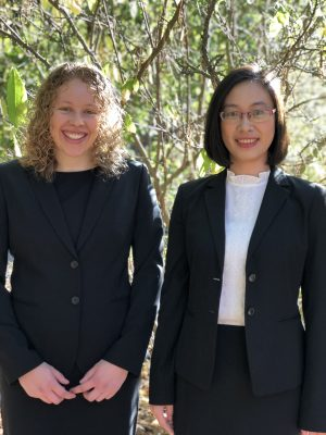 "Two CFRM Students Win ""Women in Quantitative Finance"" Award"