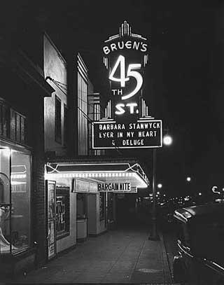 Seattle Cinema in the Depression