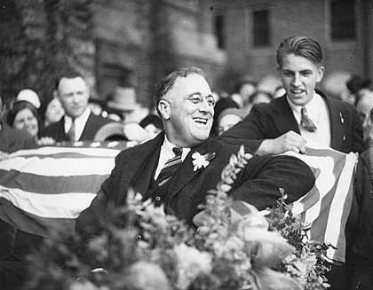 fdr election support 1932