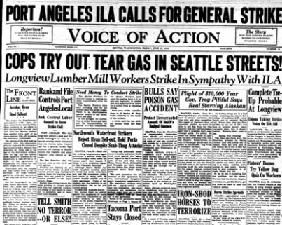 1934 Waterfront Strike
