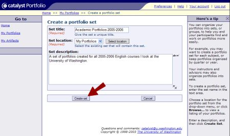 how to create an online portfolio for writers
