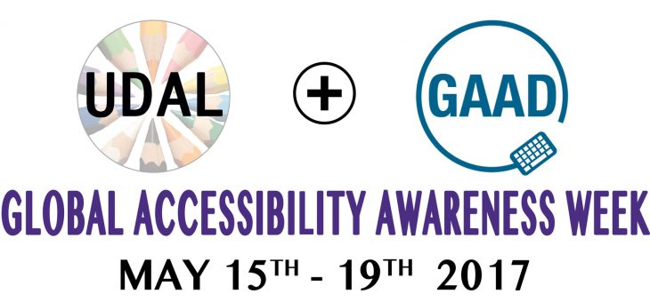 Global Accessibility Awareness Week at UW Bothell – May 15-19, 2017