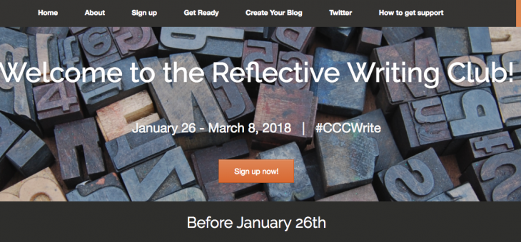 A Six Week Faculty Reflective Writing Club