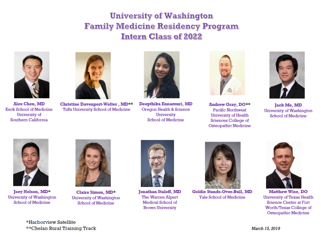 Residency | UW Department of Family Medicine