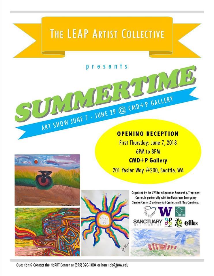 SUMMERTIME Art Show   HaRRT Center