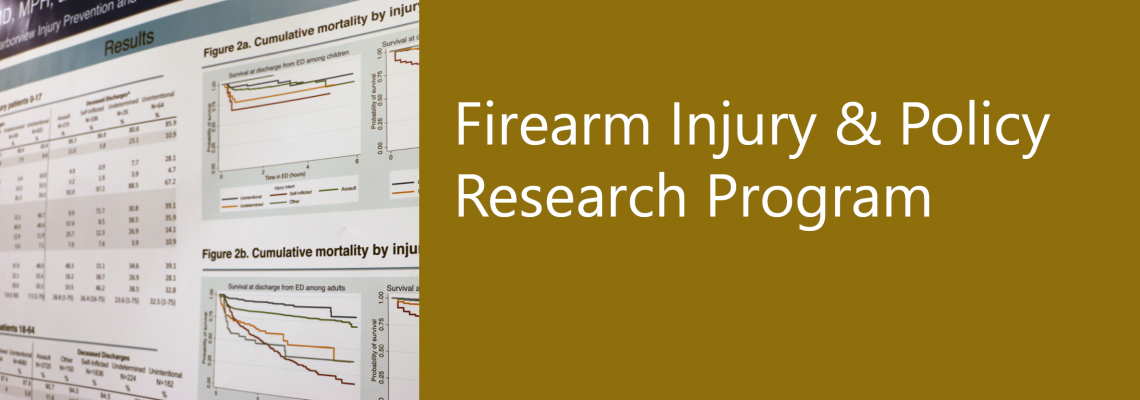 About the Firearm Injury and Policy Research Program