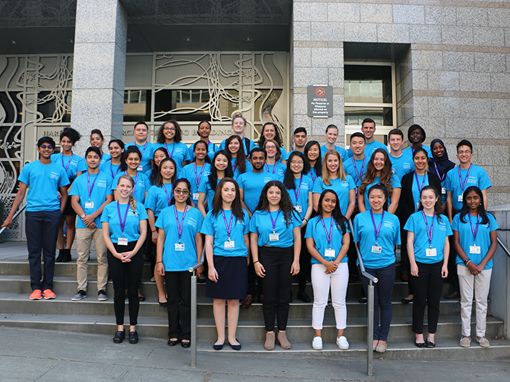 The 2017 INSIGHT Research Program and High School Program students.